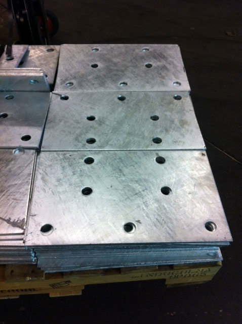 GUARDRAIL-ANCHOR-PLATES